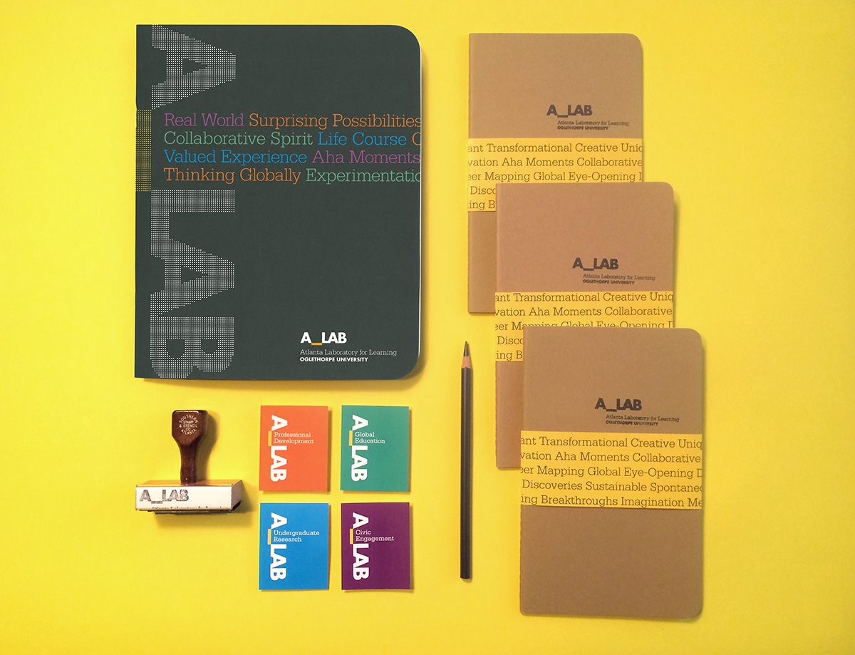 A_LAB brand identity design by Drew Sisk