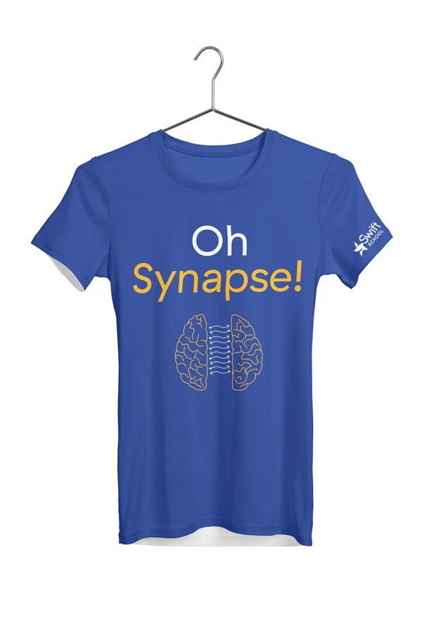 Swift School Oh Synapse T-shirt, designed by Drew Sisk